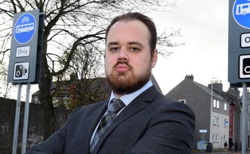 Councillor Alex McLellan.