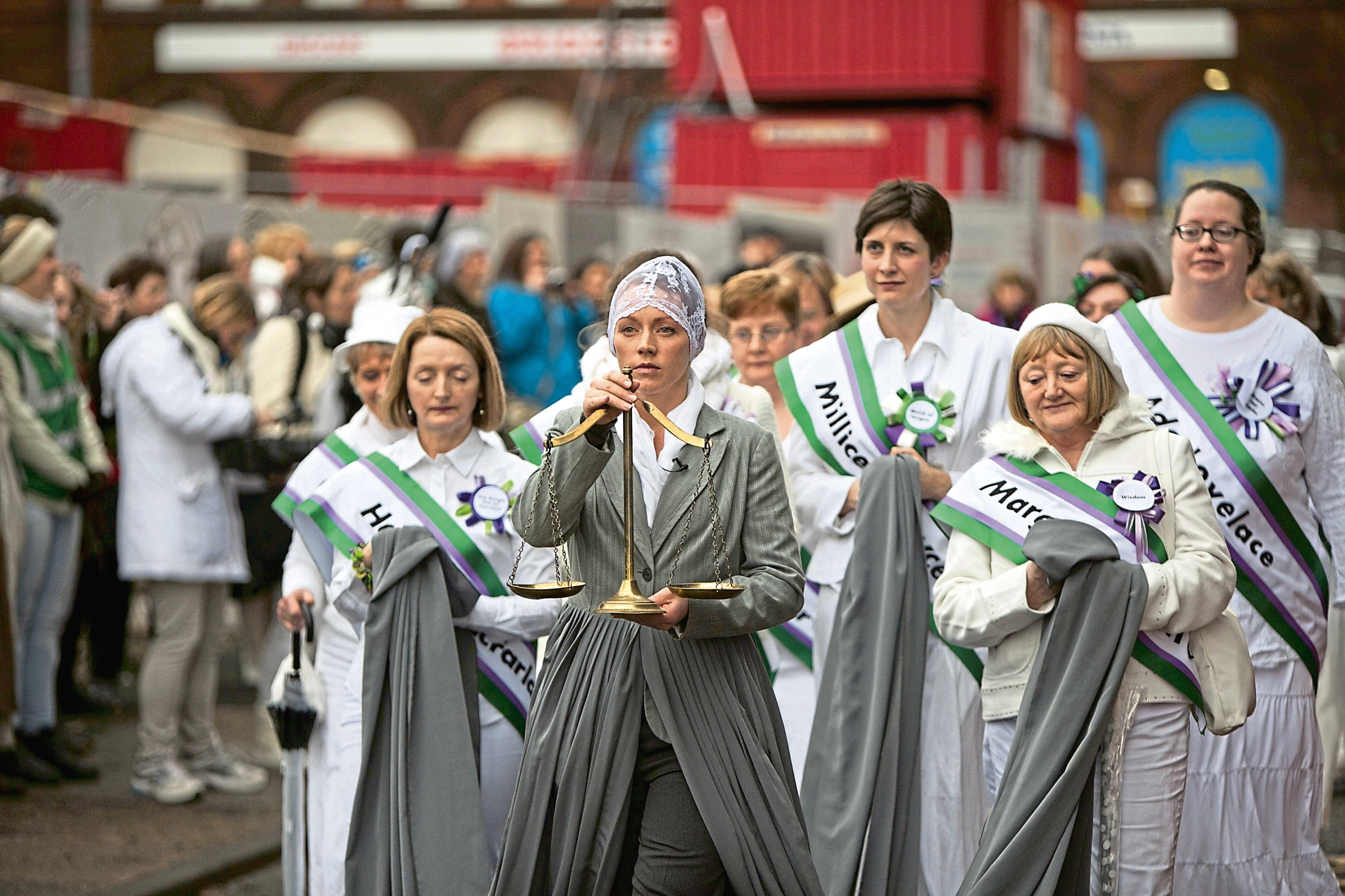 A scene from March Of The Women. The film, celebrating women past and present, will be screened in the city.