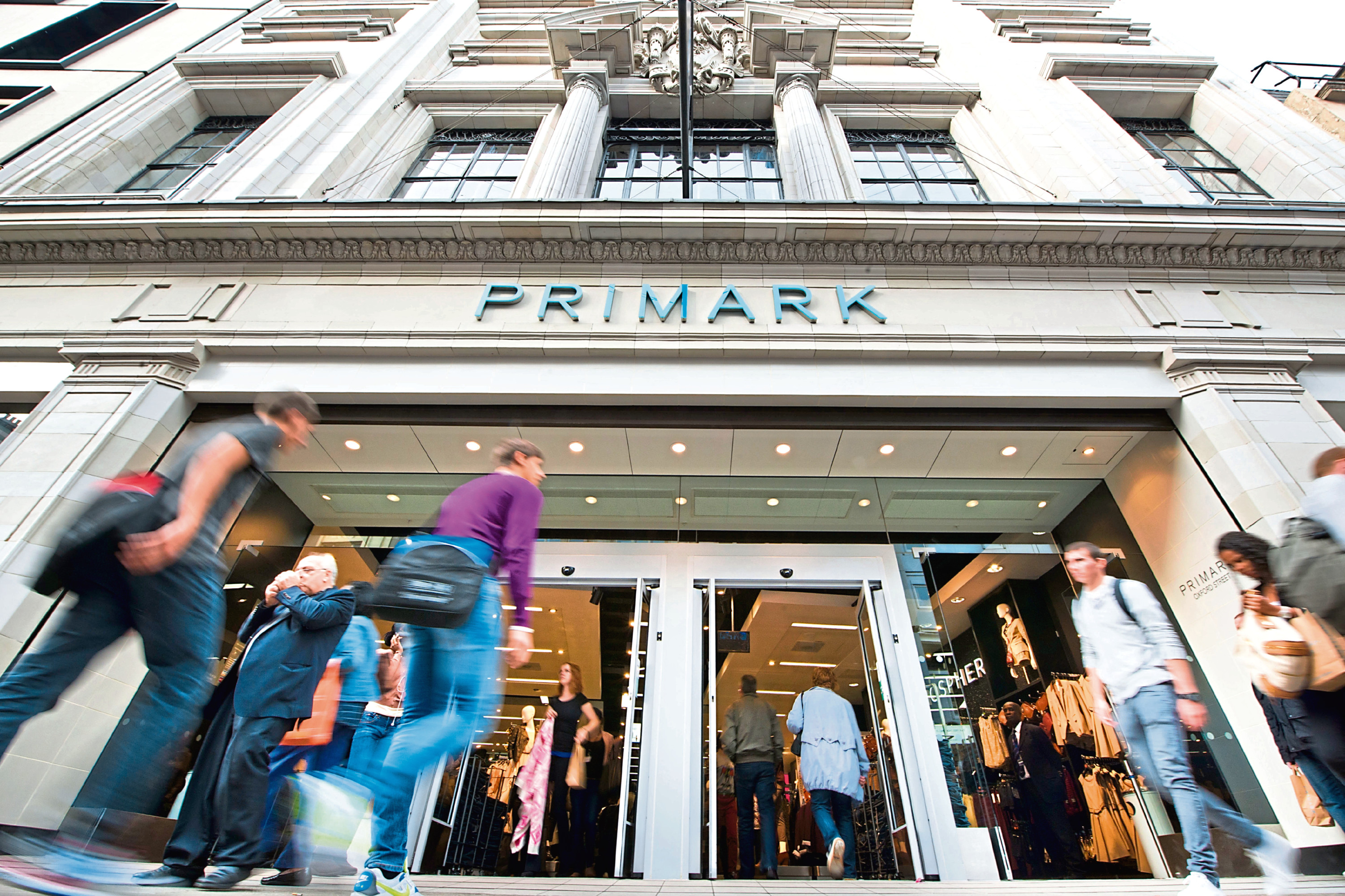 Primark store General view of the new Primark store on Oxford Street, central London.