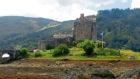 The historic Eilean Donan Castle.