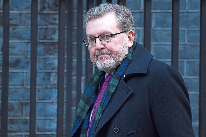 Scottish Secretary David Mundell