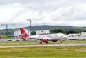 Virgin Atlantic at Aberdeen Airport.