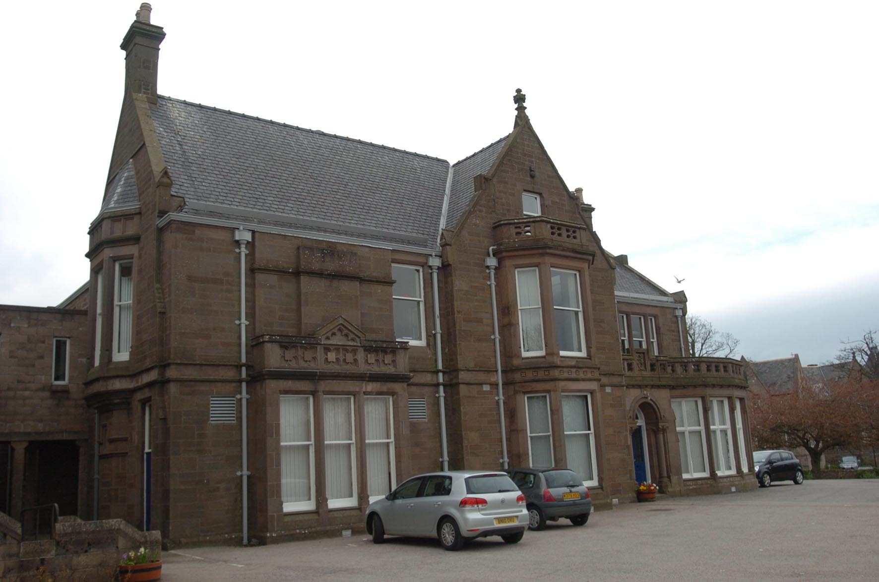 The council's Stonehaven office.