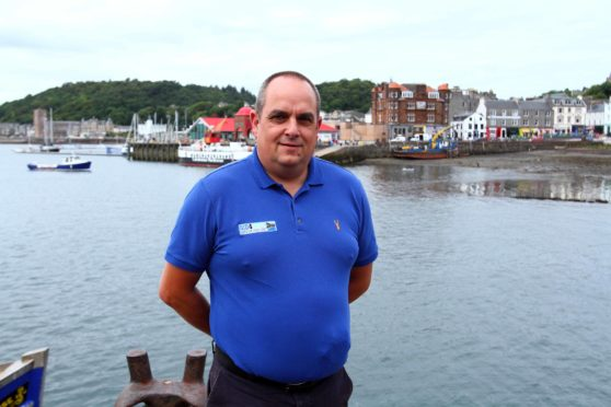 Andrew Spence, chief executive of Bid4Oban.