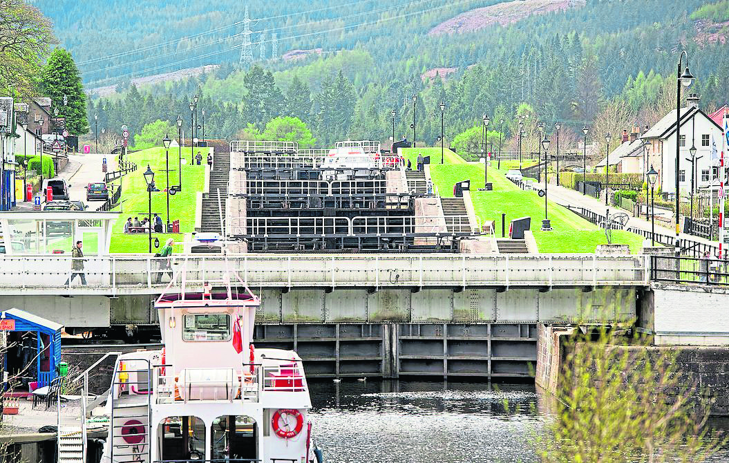 Some of the government money will allow the replacement of lock gates at Fort Augustus.