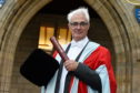 Alistair Darling received an honorary degree from Aberdeen University.