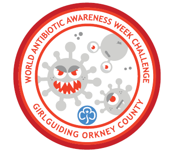 Girl Guides in Orkney have been working towards the Bacteria Bob badge this week.