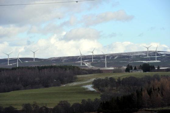 The Berry Burn wind farm currently has 29 turbines.