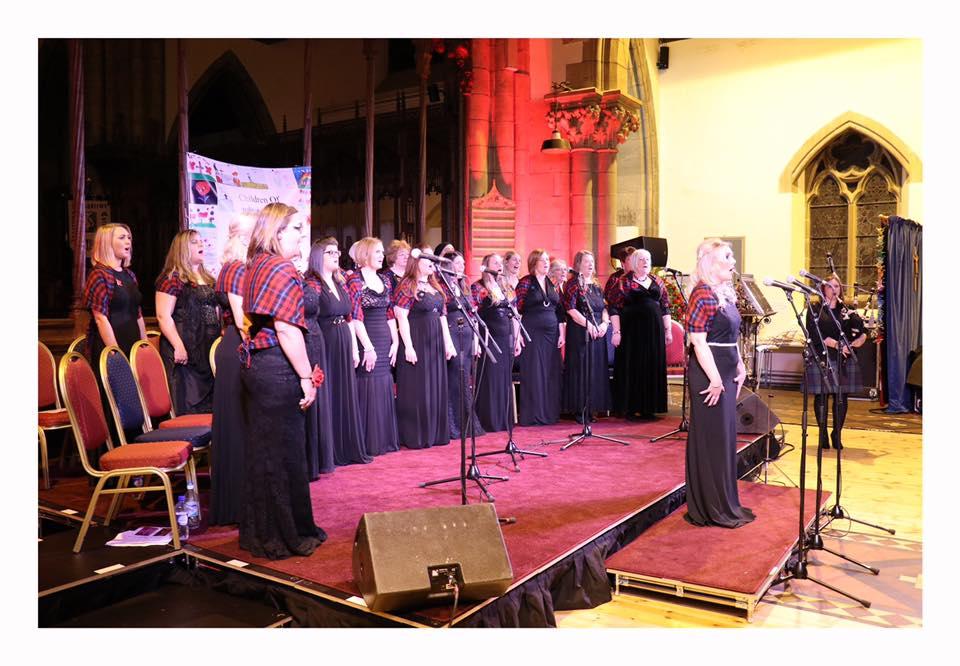 Inverness Military Wives performing 'Centenary of Song' concert