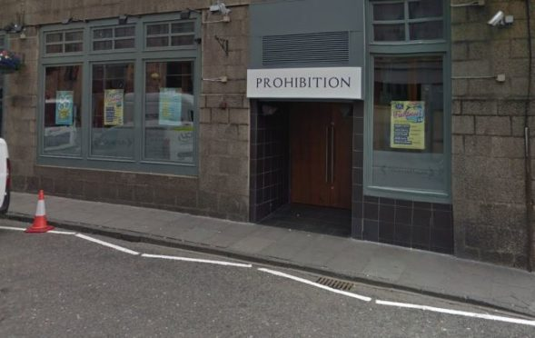 The incident took place in Prohibition