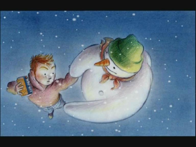 The snowman IRN BRU advert.