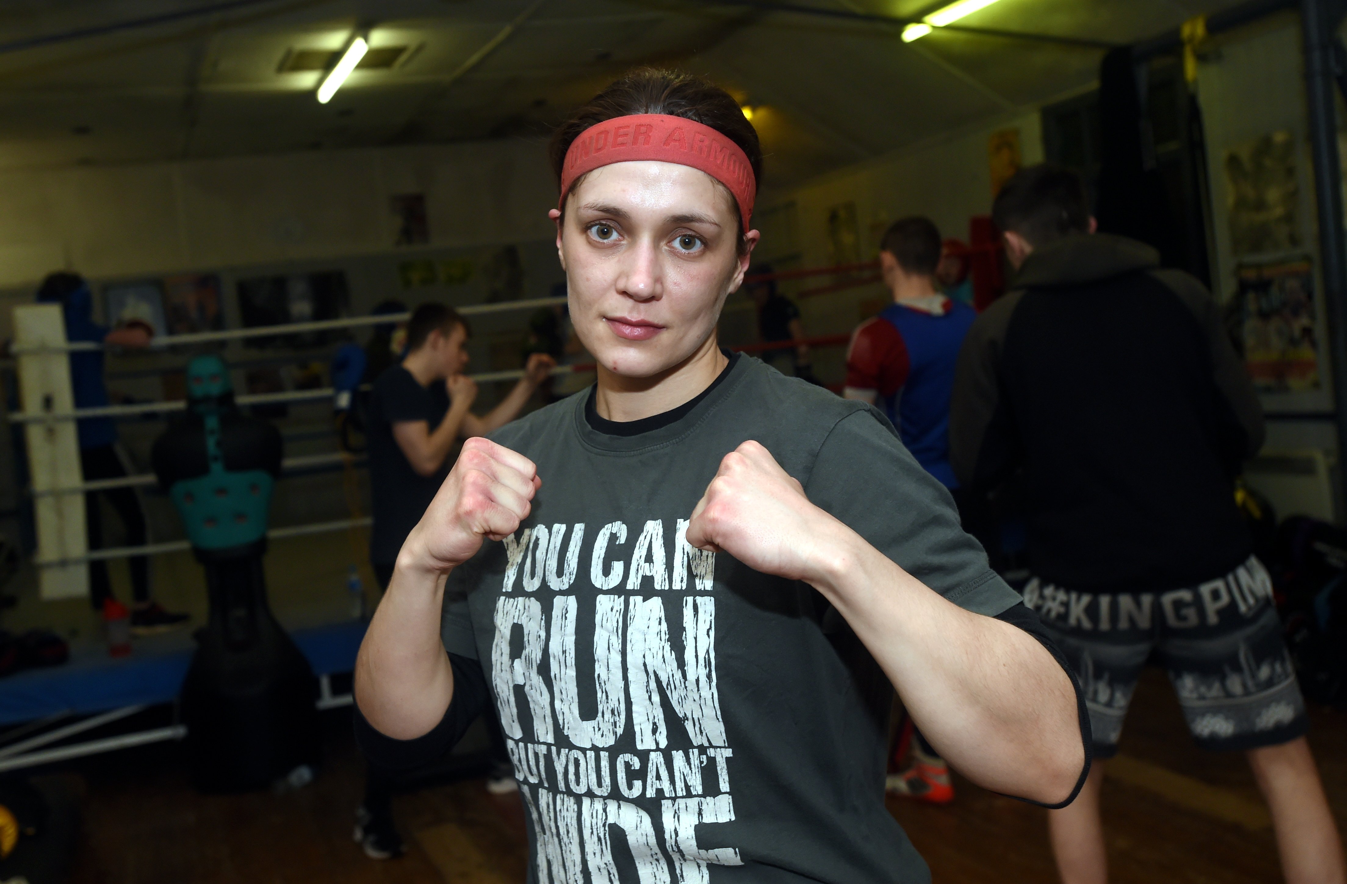 Kristen Fraser is fighting for a Commonwealth title on Saturday.