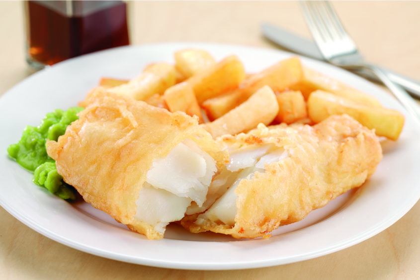 A north-east fish and chip restaurant has been named among the top six in the UK.