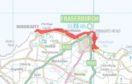 Sepa has issued a flood warning for parts of Fraserburgh