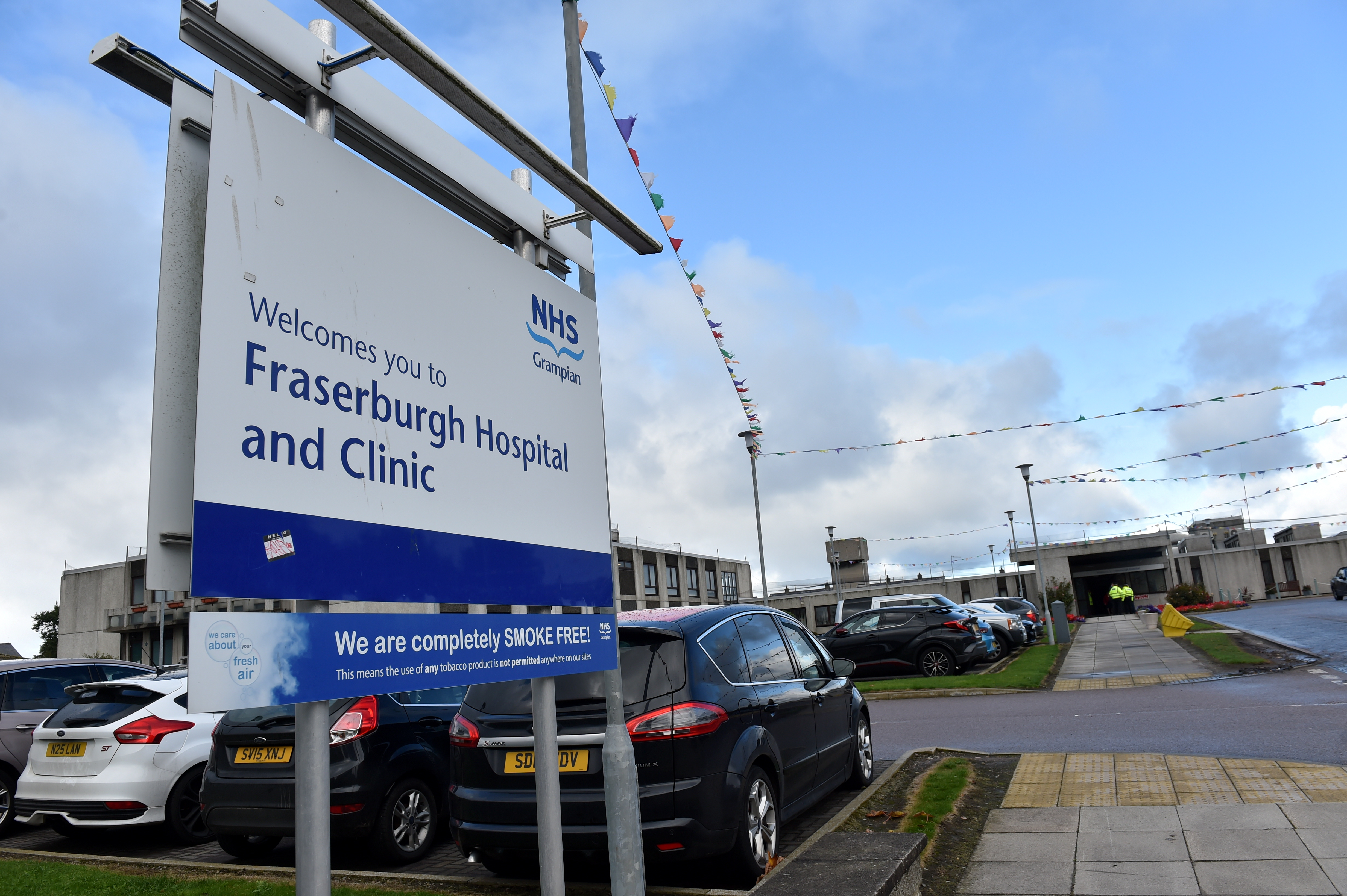 Jane Onoh volunteered as a radiologist at Fraserburgh Hospital in 2017.