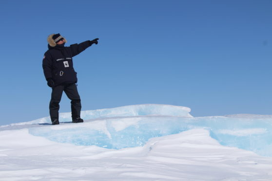 Rod Downie will give a talk in Aberdeen on polar bears