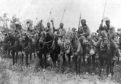 Indian cavalry after their charge, Somme, France, First World War, 14 July 1916, (c1920). Illustration from The Illustrated War Record of the Most Notable Episodes in the Great European War 1914-1918, seventh edition, (The Swarthmore Press Ltd, London, c1920). (Photo by The Print Collector/Print Collector/Getty Images)