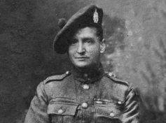 Company sergeant John Skinner, VC.