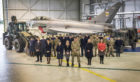 Members from Moray Chamber of Commerce visited RAF Lossiemouth as part of the launch of the new Chamber Force initiative.