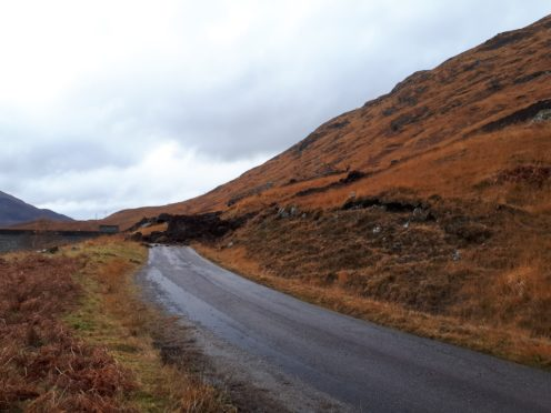 A landslide near to Invergary caused the power outage to 23,000 customers in the Western Isles and Skye.