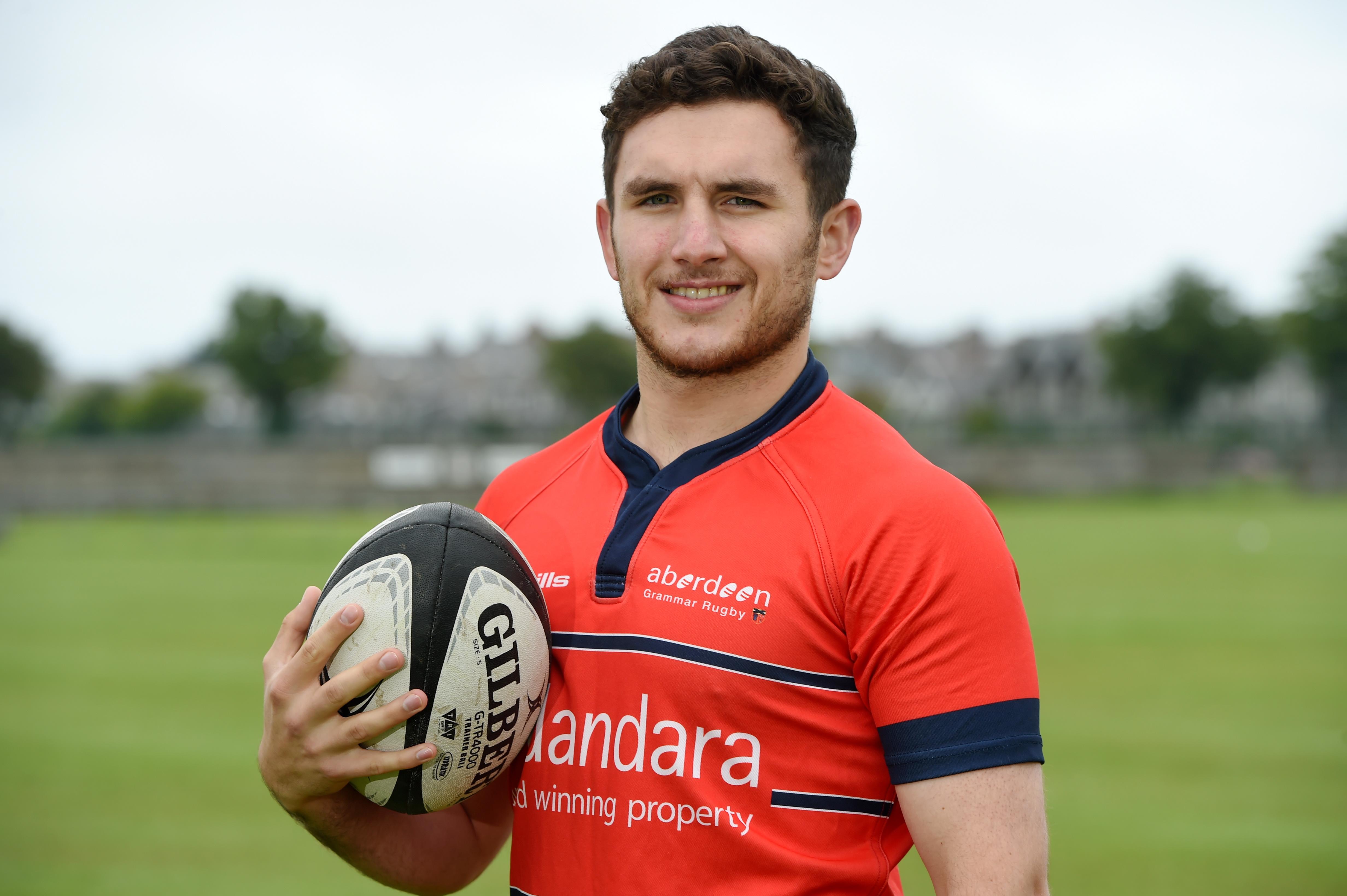 Aberdeen Grammar vice-captain Doug Russell.
