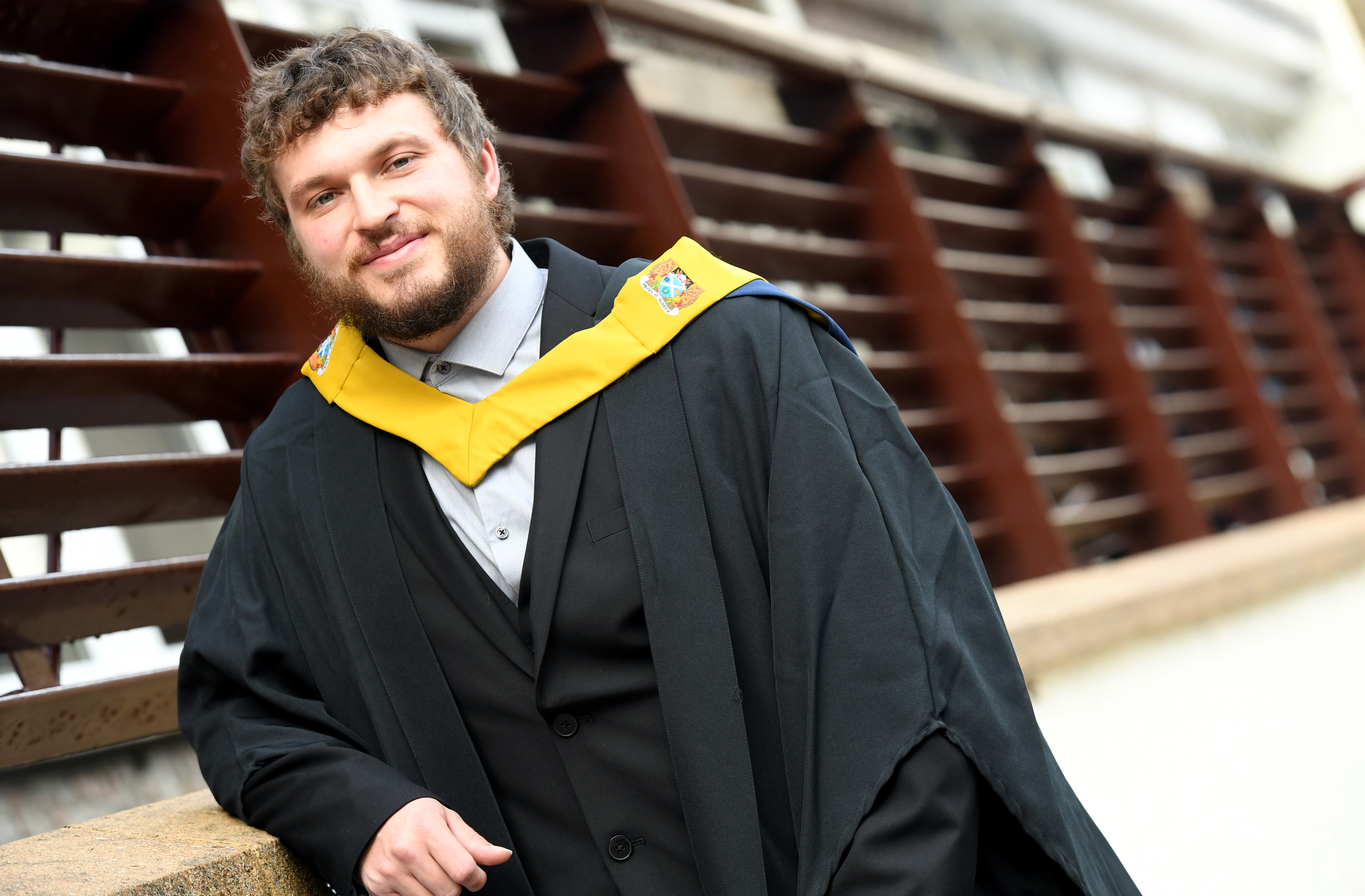 Michael Rough graduated with a HNC in Built Environment from NESCol.