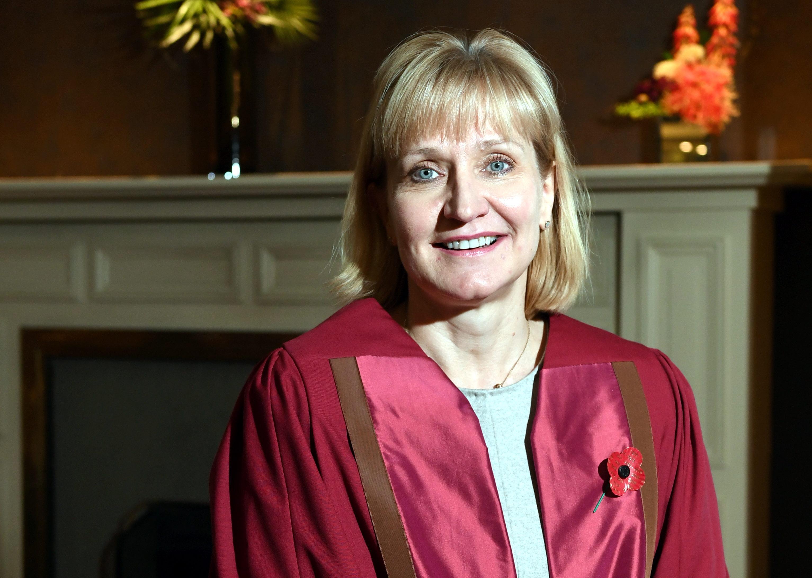 Deirdre Michie OBE has received the Nescol Fellowship award