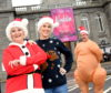 """Charity """"For the Love of Garioch"""". Pictured L-R Cath Robertson, volunteer Kathryn Cruickshank and Jamie Robertson."""