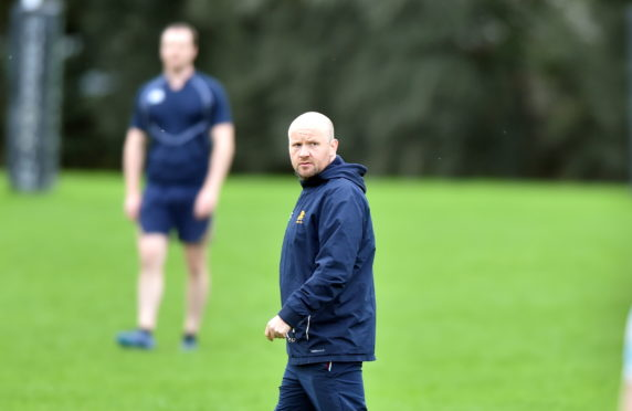 Gordonians head coach Ryan Morrice.