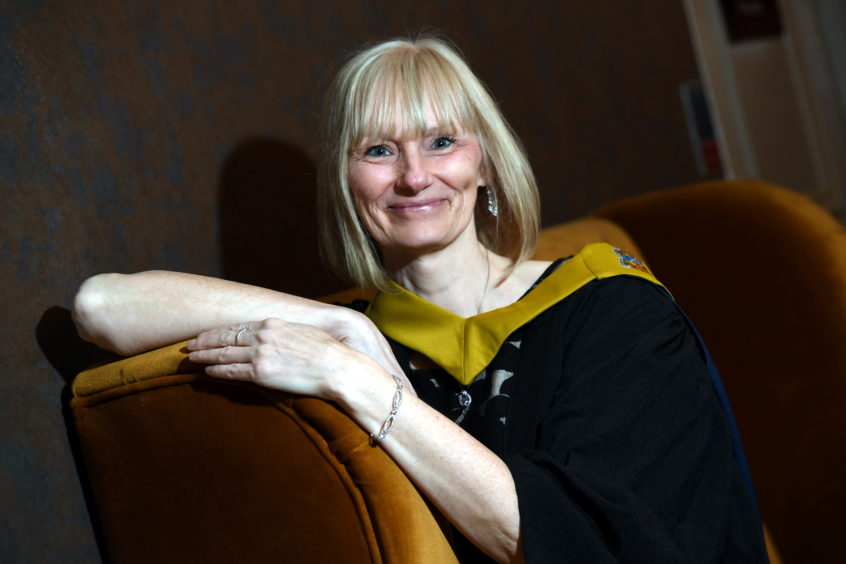 Dawn McLeod graduated with a HND in Administration and IT from Nescol.