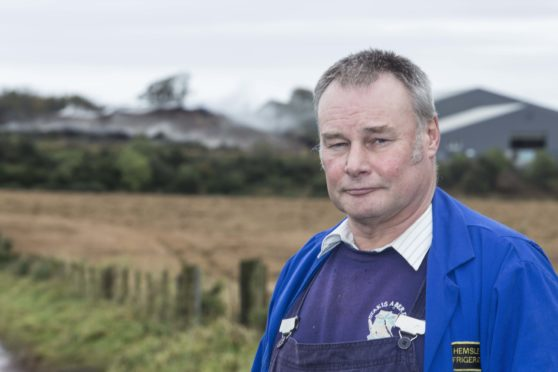 Phil Helmsley is one of 14 people who have raised objections against Keenan Recycling's plans to extend the opening hours at their New Deer site.