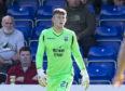 Ross County goalkeeper Ross Munro.