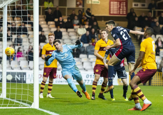 Ross Stewart bagged a brace for Ross County against Motherwell Colts.