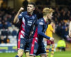 Ross Stewart netted twice in the IRN-BRU Cup quarter-final against Motherwell colts.