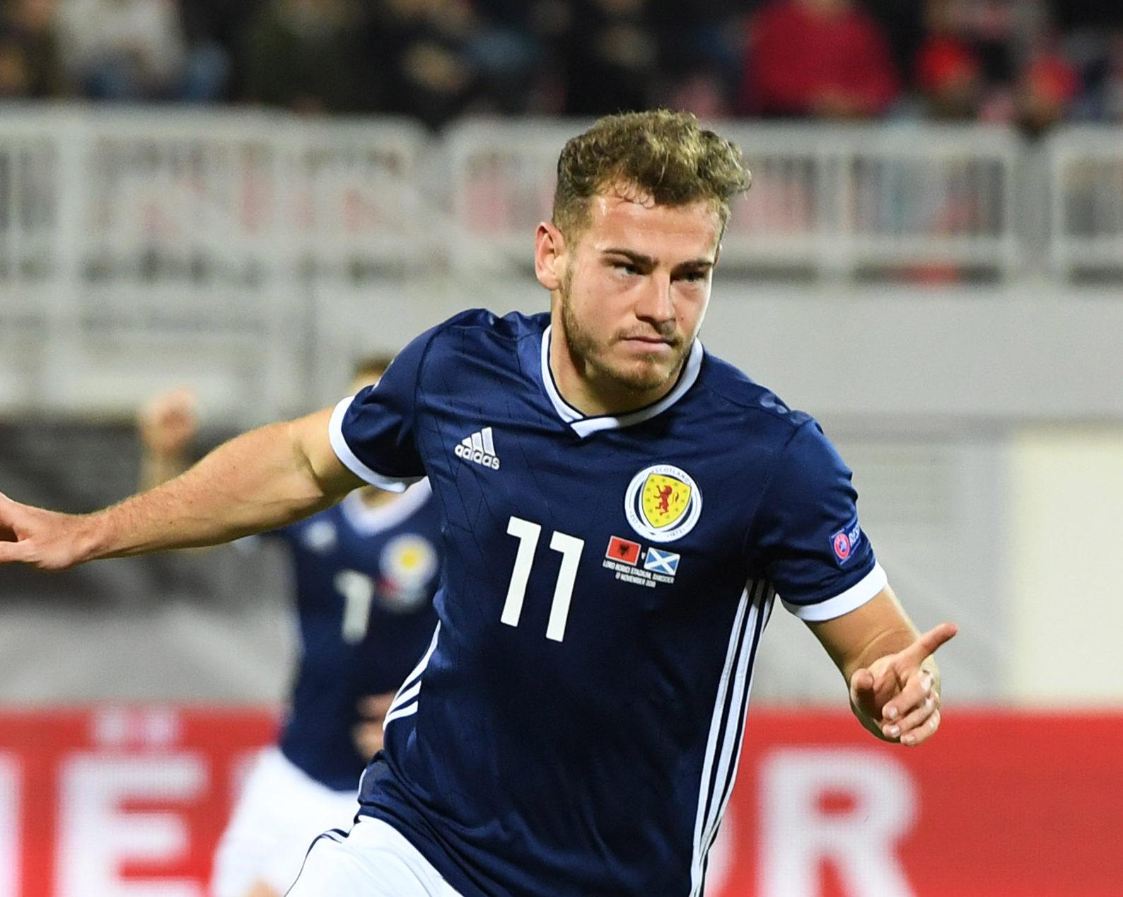 Scotland's Ryan Fraser