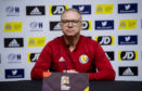 Scotland national team coach Alex McLeish.