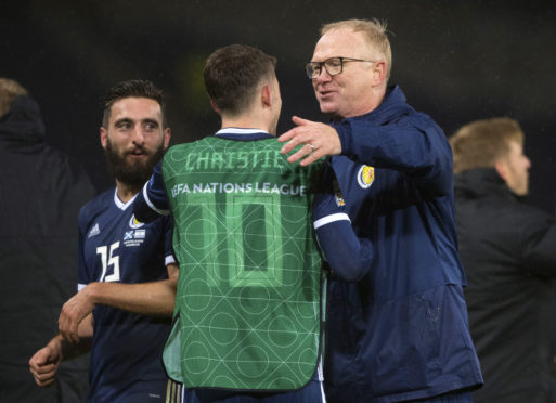 Alex McLeish's side are already guaranteed a play-off after winning their Nations League group.