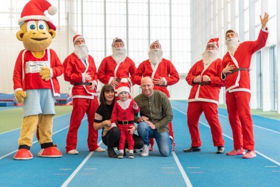 Preparations are under way for the third annual Santa Fun Run at Aberdeen Sports Village