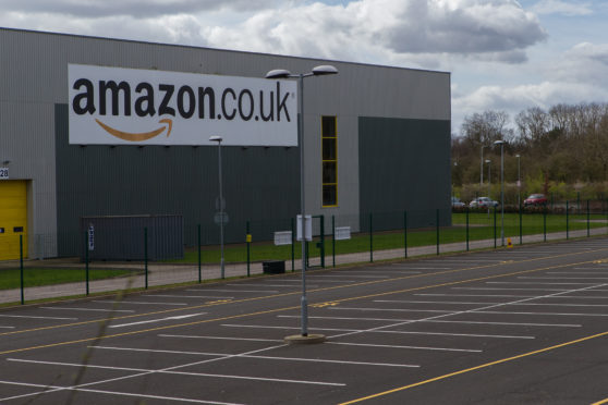 Stuart Allan worked at Amazon's Dunfermline facility.