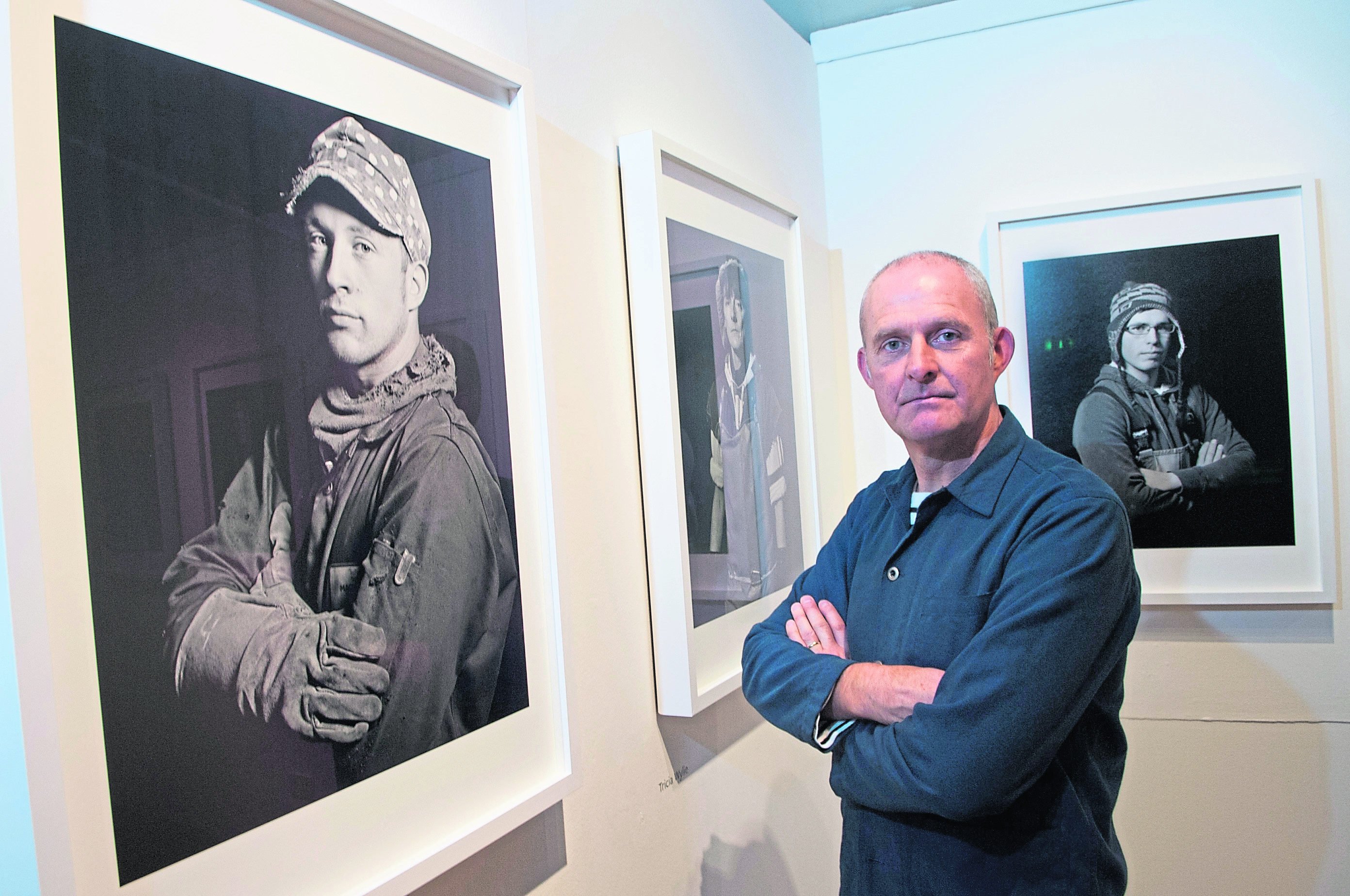 Photographic portraits by London-based Scottish photographer Paul Duke of working men and women from north-east Scotlands fishing communities were unveiled at Aberdeen Maritime Museum.