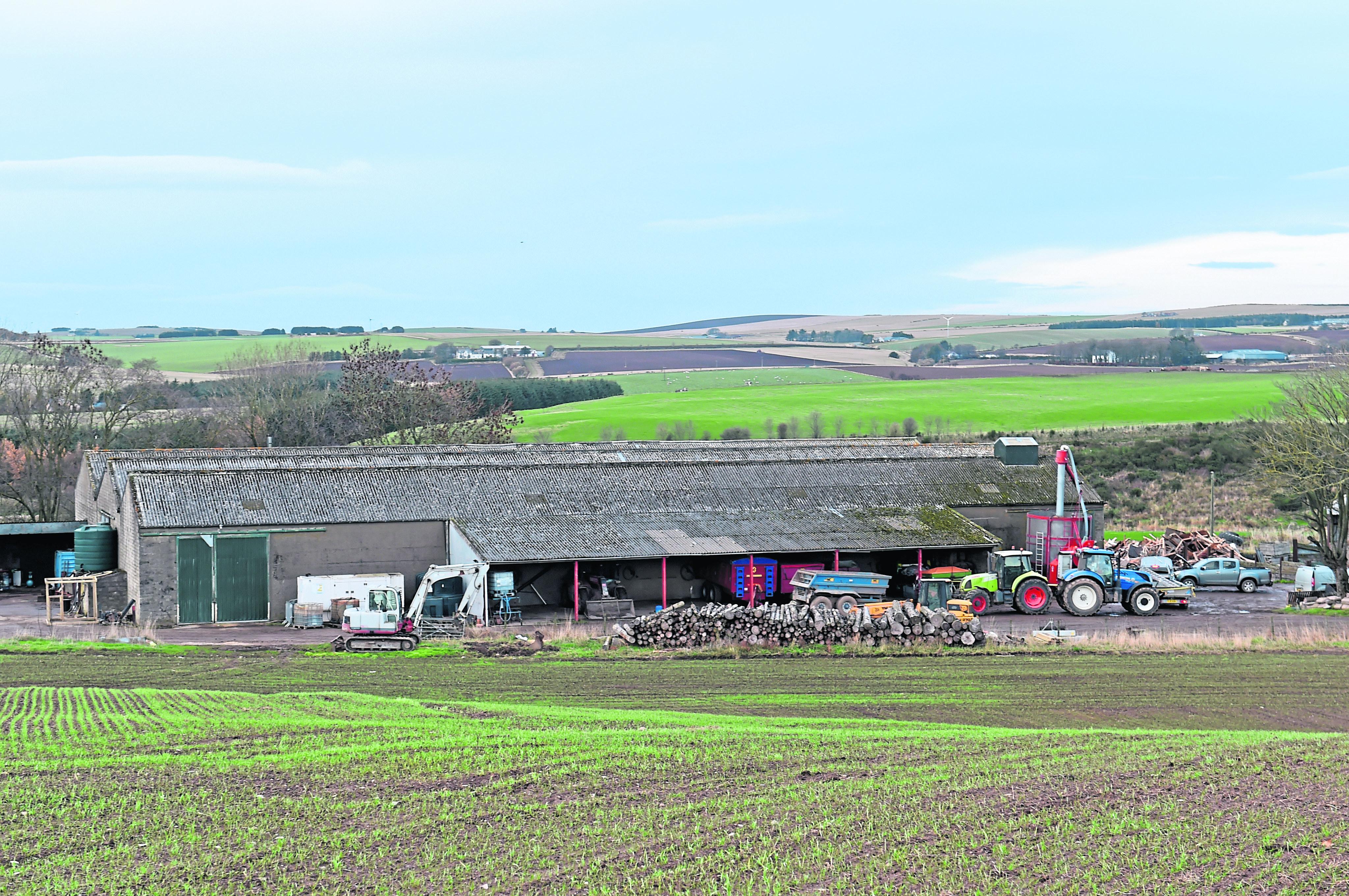 47-year-old Neil Ironside died in an incident at Auchlinn Farm near Turriff.