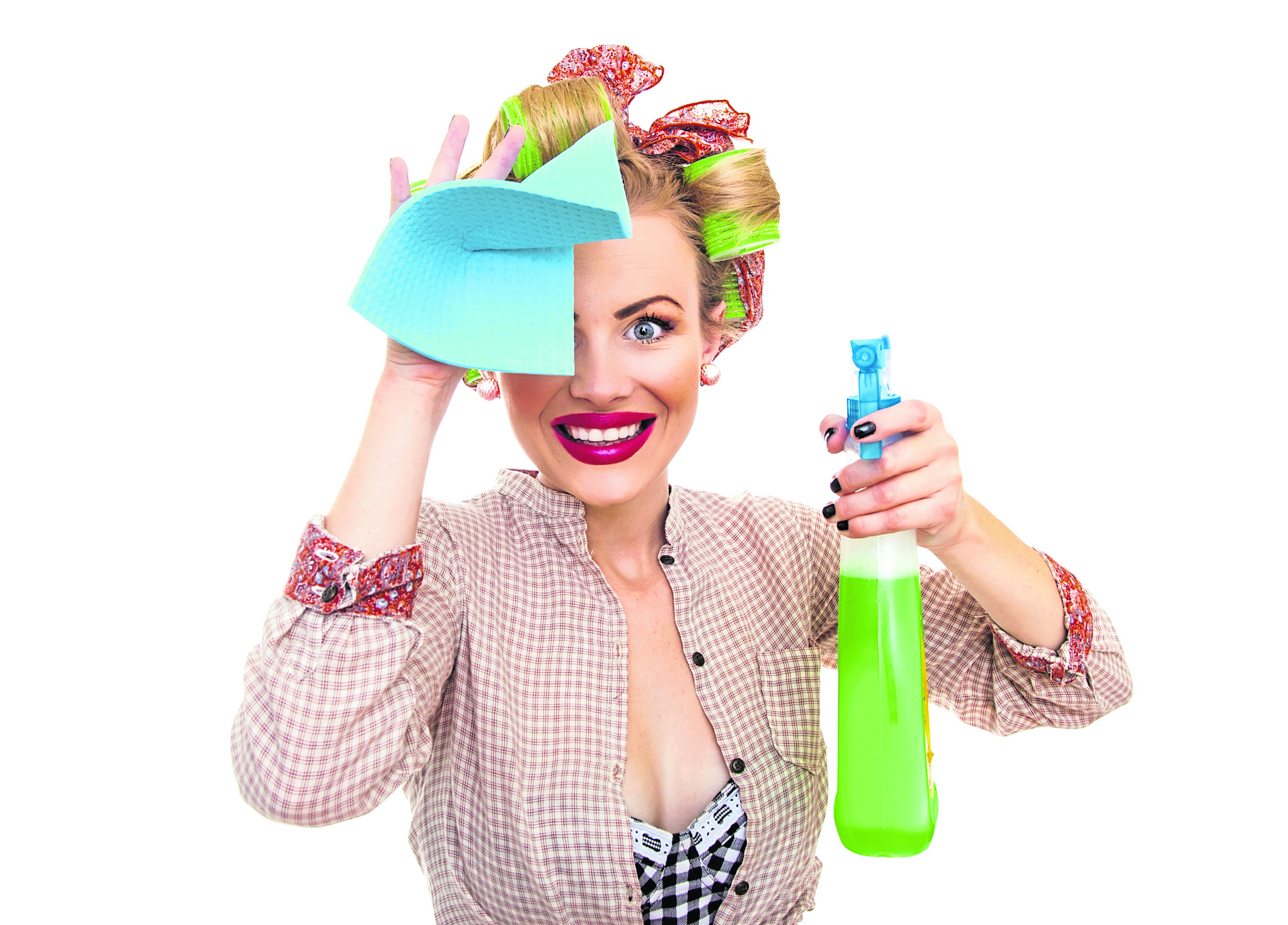 Lifestyle Correspondent Tanya Souter isn't much of a Domestic Goddess and so wasn't keen to starting cleaning houses for other people – even when she learned that naked cleaners earn £80 an hour to do so.