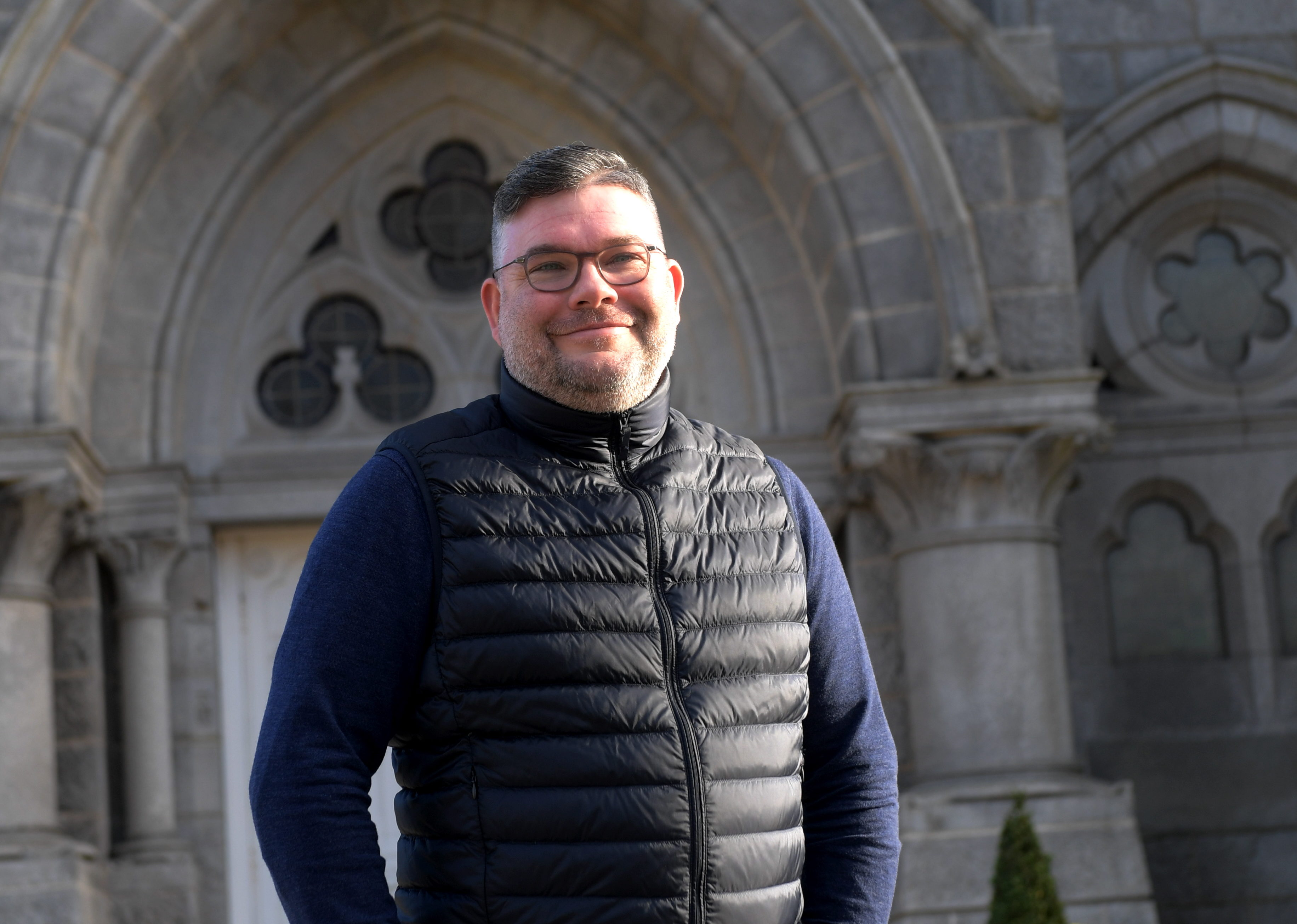 Reverend Scott Rennie has high hopes for the merger.