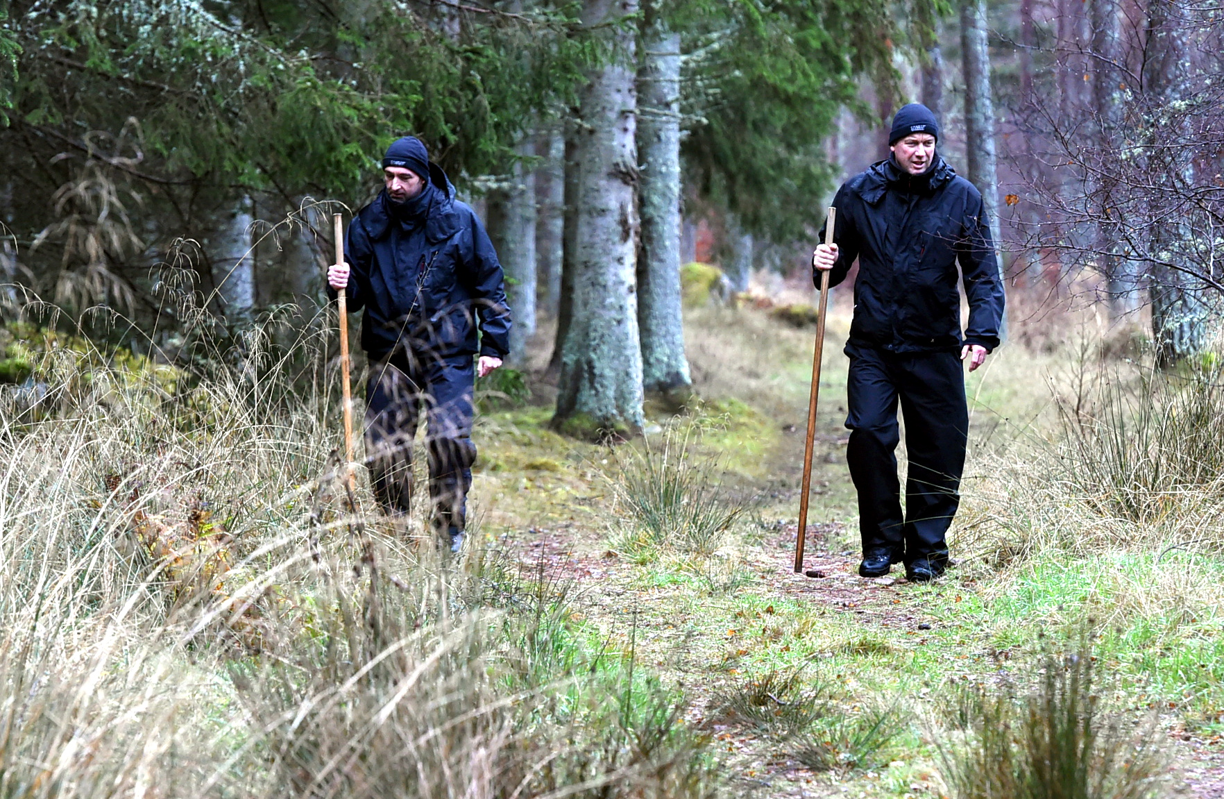 Search efforts for missing Liam Smith near Falls of Dess, Aberdeenshire