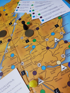 An old Scottish board game has been released to the public in a Gaelic version.