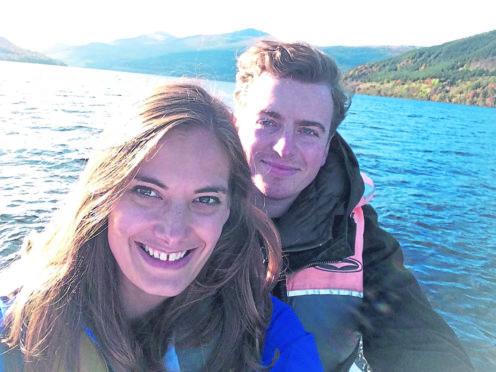 Jessica and Darren Seymour.