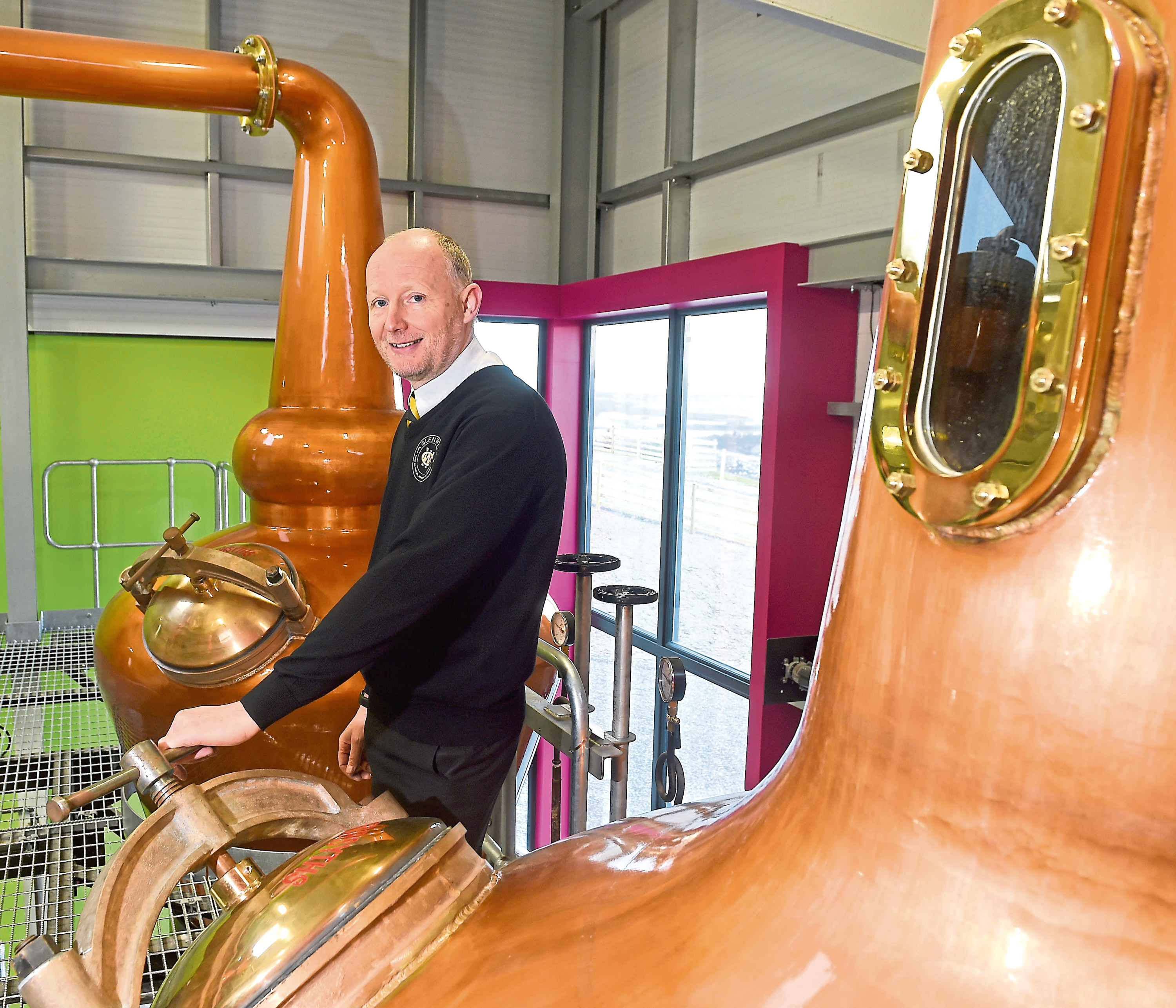 Duncan Tait, Distillery Manager.