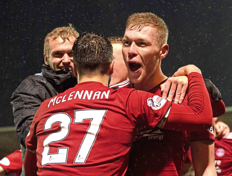 Sam Cosgrove  has been a man reborn for Aberdeen.