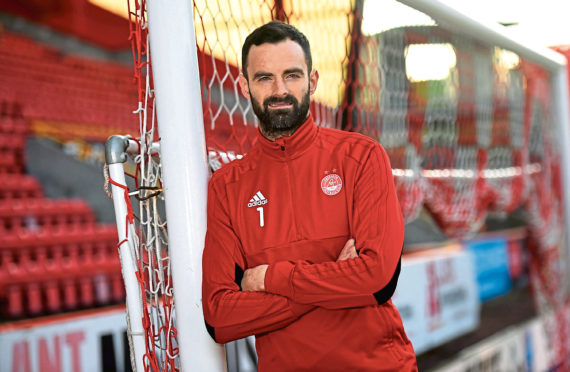 Aberdeen goalkeeper Joe Lewis was speaking ahead of the visit of Hearts.