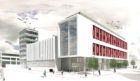 An artist's impression of how the new Drum Property Group's Hampton Inn, near Union Square, could look.